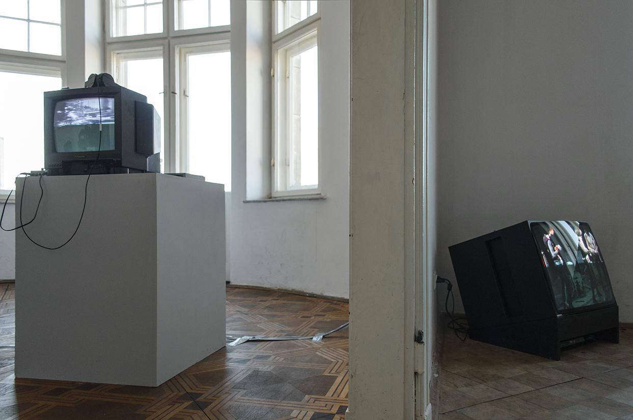 Szpula energetyczna, widok wystawy