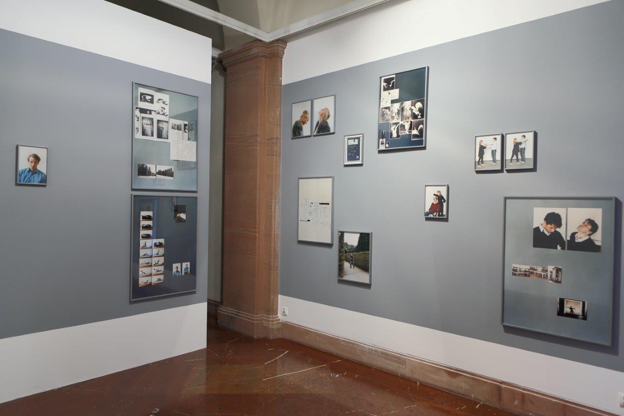 Podwojona nieobecność, widok wystawy