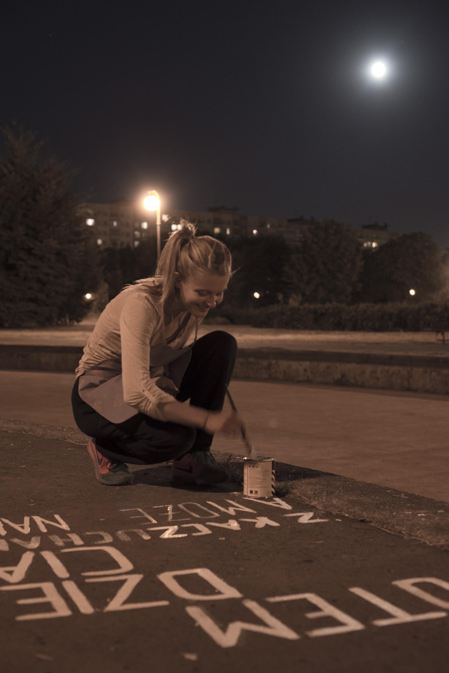 Honorata Martin, Zadomowienie, Park Rzeźby naBródnie, fot.Szymon Rogiński