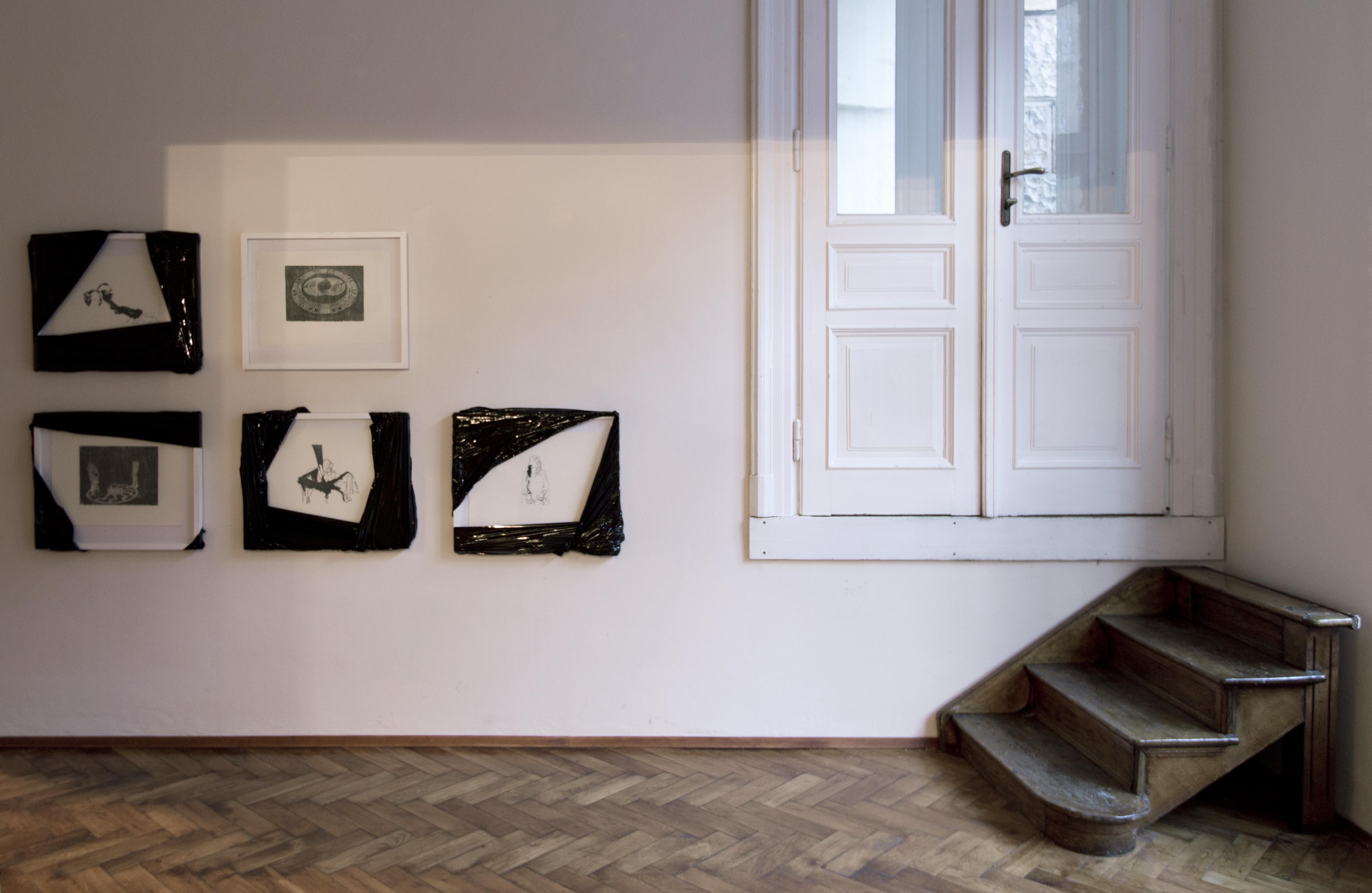 Dzieci szatana, widok wystawy