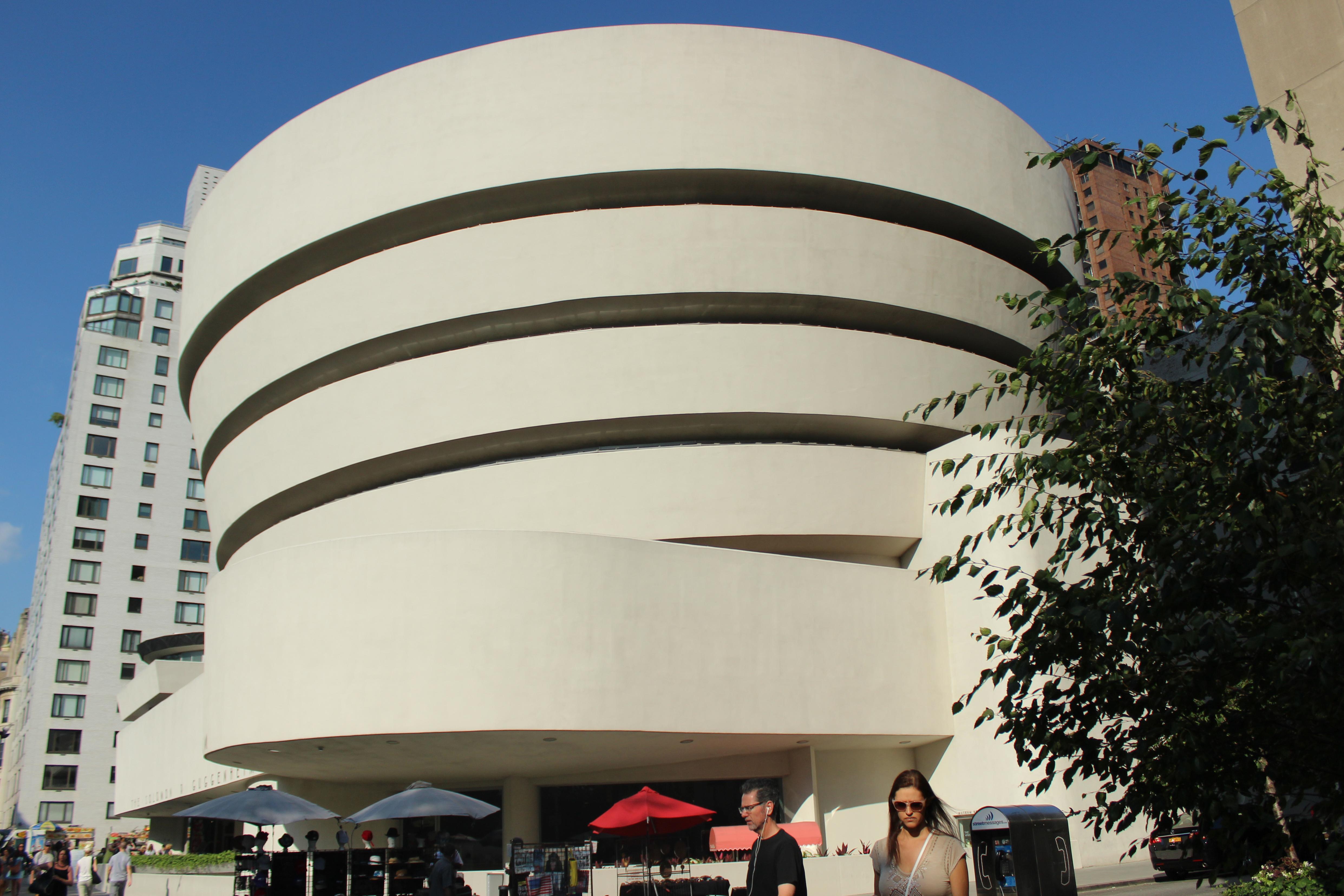 Muzeum Guggenheim'a fasada