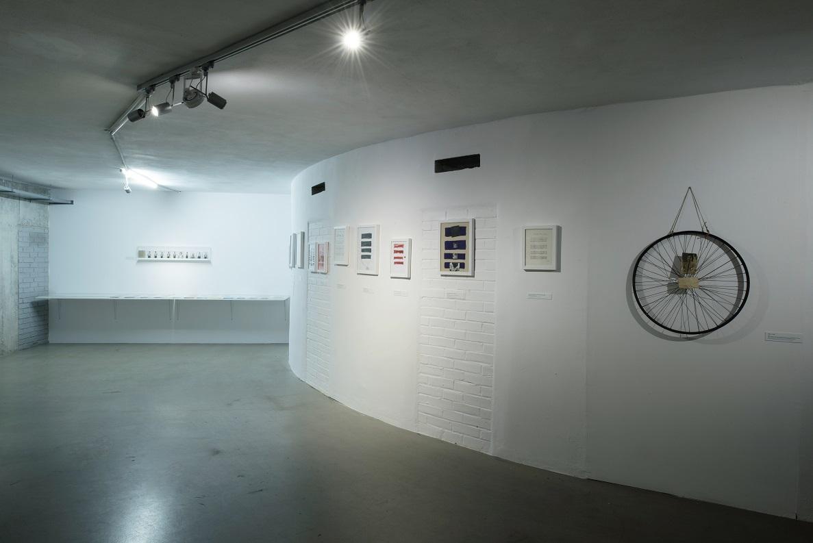 Widok wystawy Vlado Martka Granice języka. Fot.Małgorzata Kujda, © Muzeum Współczesne Wrocław, 2015