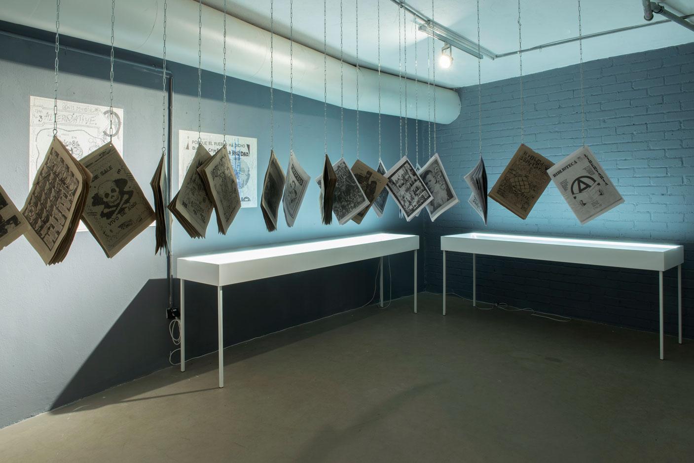 Widok wystawy Laureany Toledo iDr. Lakry: PUNXDEFEKTUOZOZ. Work in progress. Fot.Małgorzata Kujda, © Muzeum Współczesne Wrocław, 2015