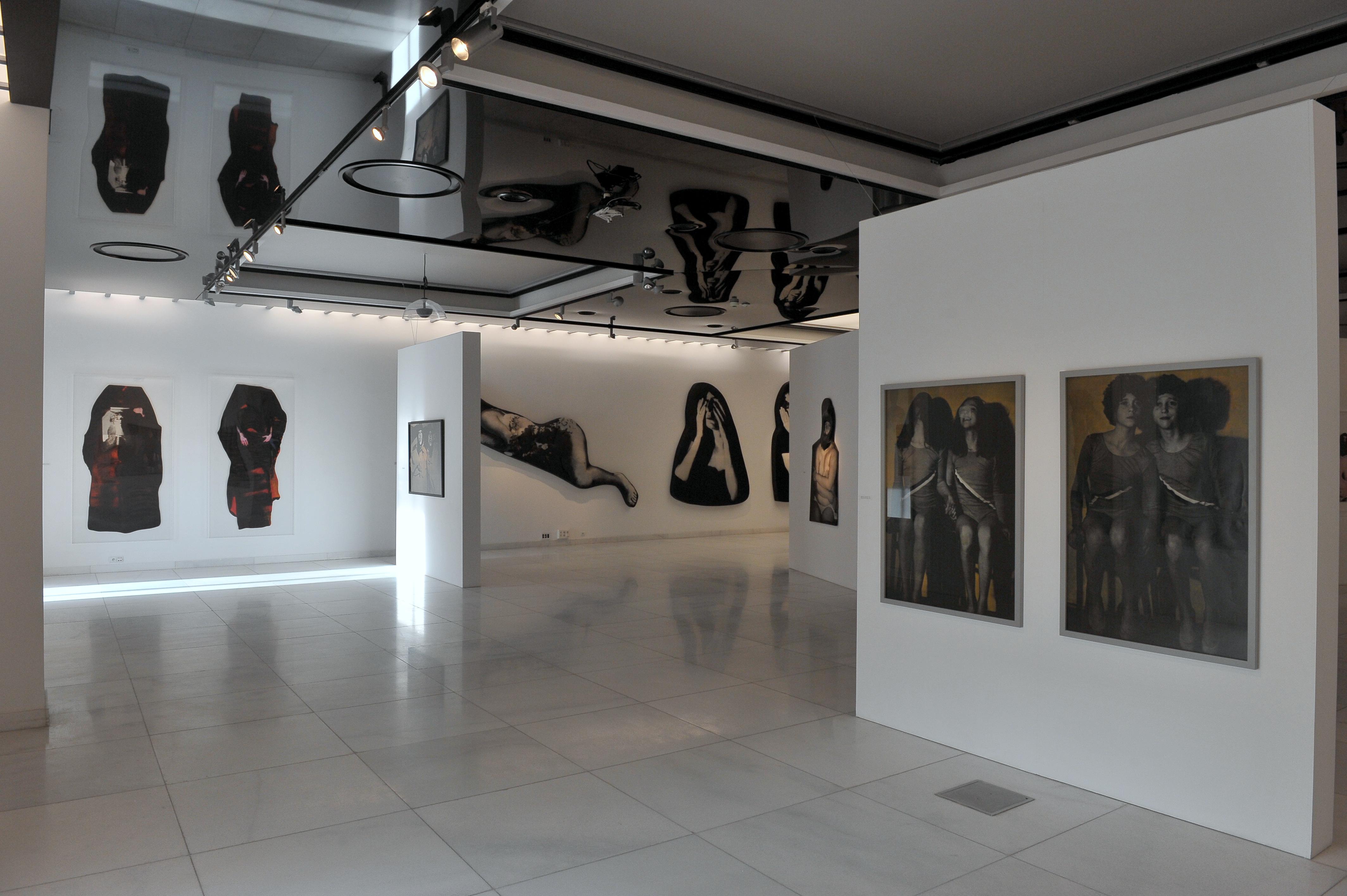 Izabella Gustowska, Pamiętam jak… Pamiętam że…, widok wystawy