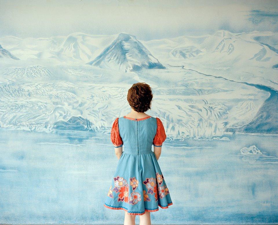 """Ieva Epnere, zserii """"Ziemia niczyja, ziemia wszystkich ludzi"""", archiwalny wydruk atramentowy, 2015"""