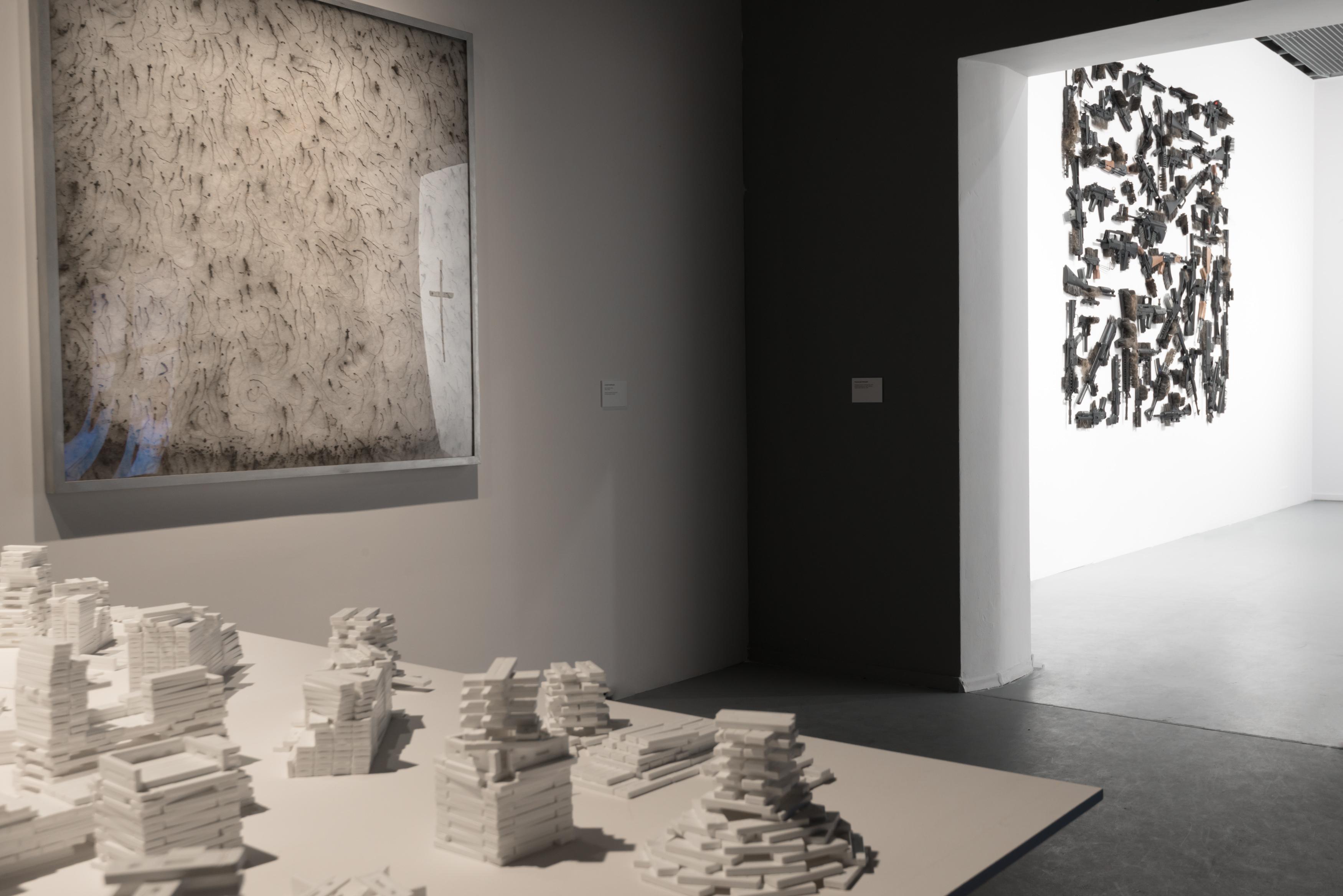 Przestrajanie, widok wystawy