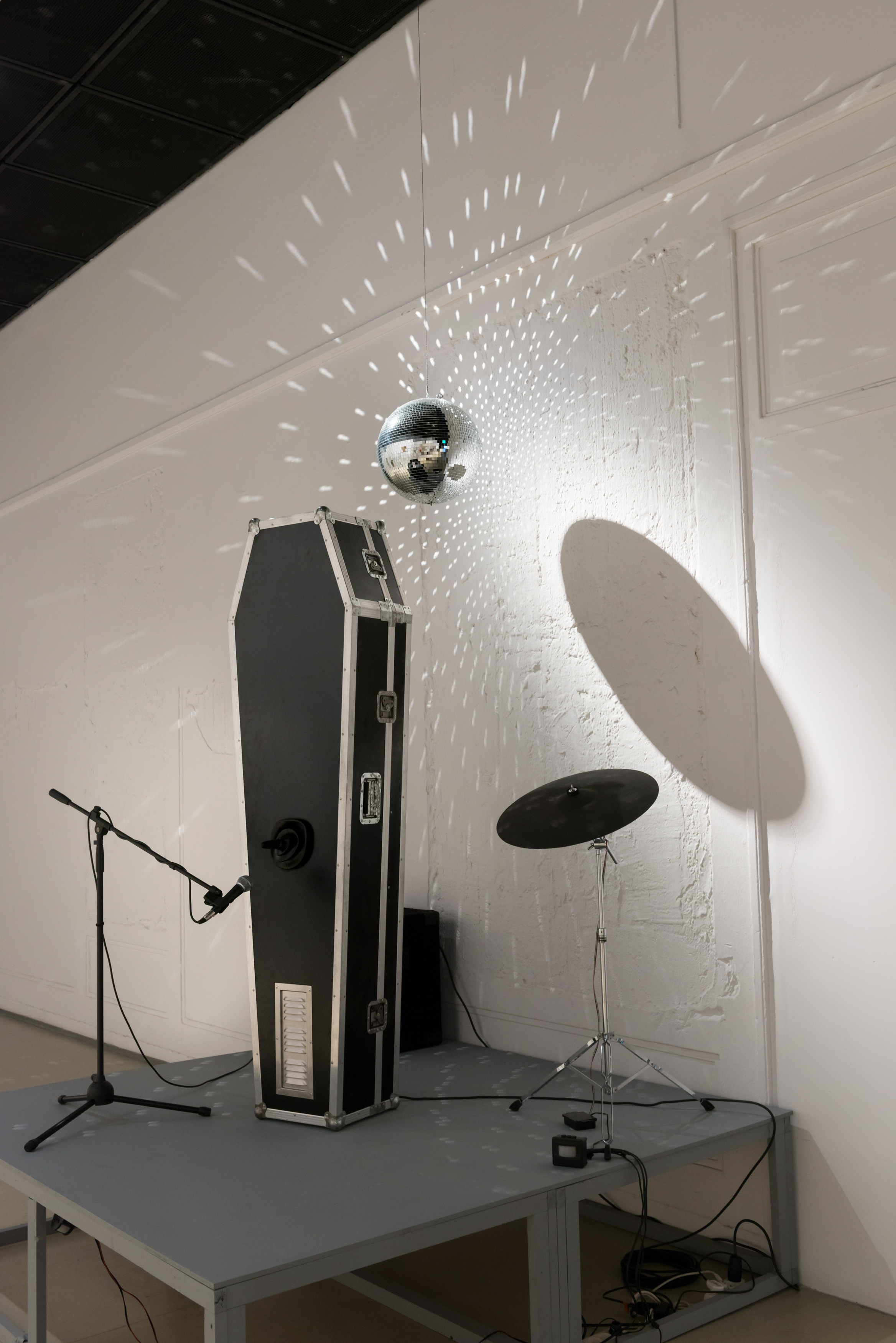 Leszek Knaflewski, Born toPlay, 2003, instalacja