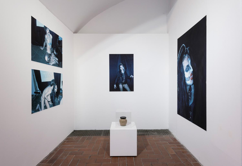Test ducha, widok wystawy