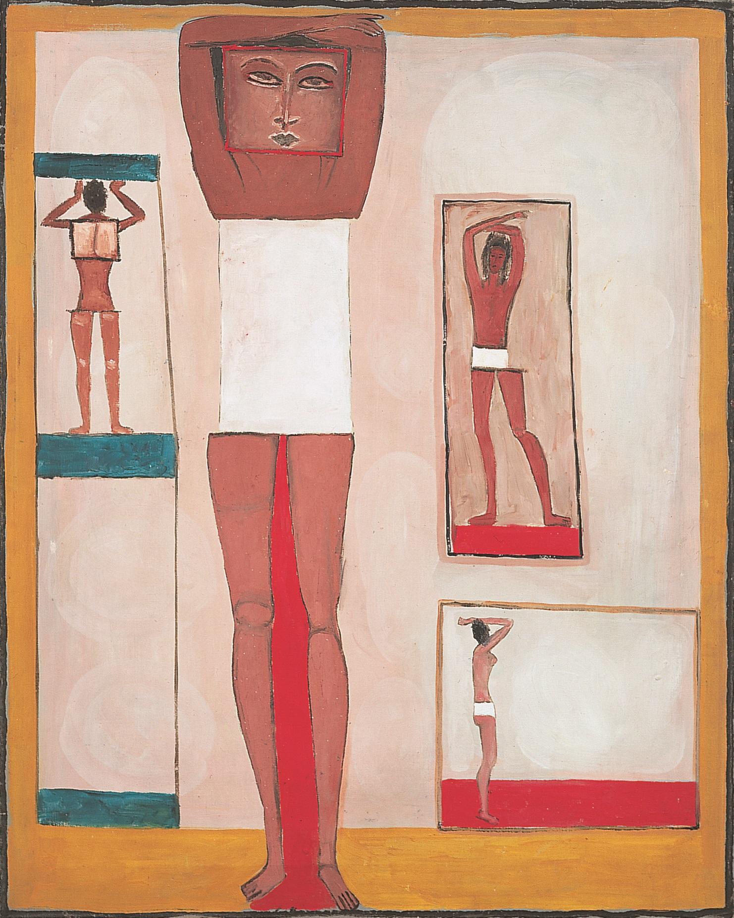 Jerzy Nowosielski, Kobieta egipska, 1958, 81 x 65 cm, olej/płótno, Fundacja Nowosielskich