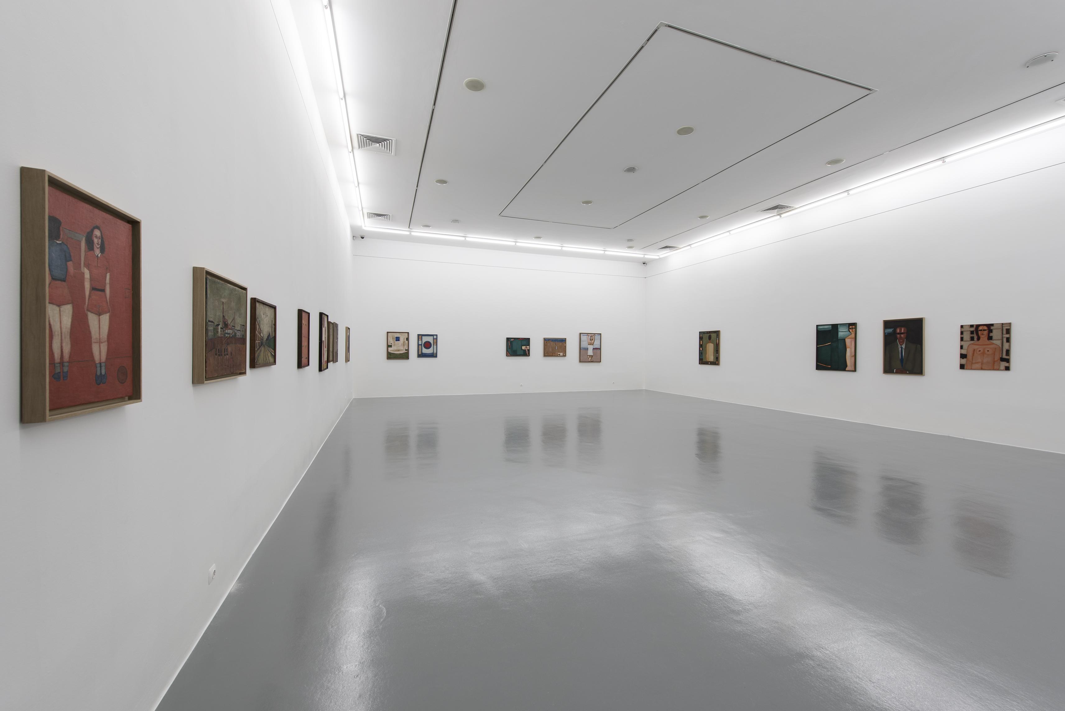 Jerzy Nowosielski, widok wystawy, Atlas Sztuki