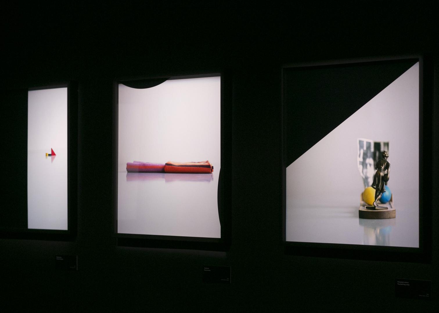 Assaf Gruber Bezimienność nocy, widok wystawy, fot.Anna Taraska Pietrzak