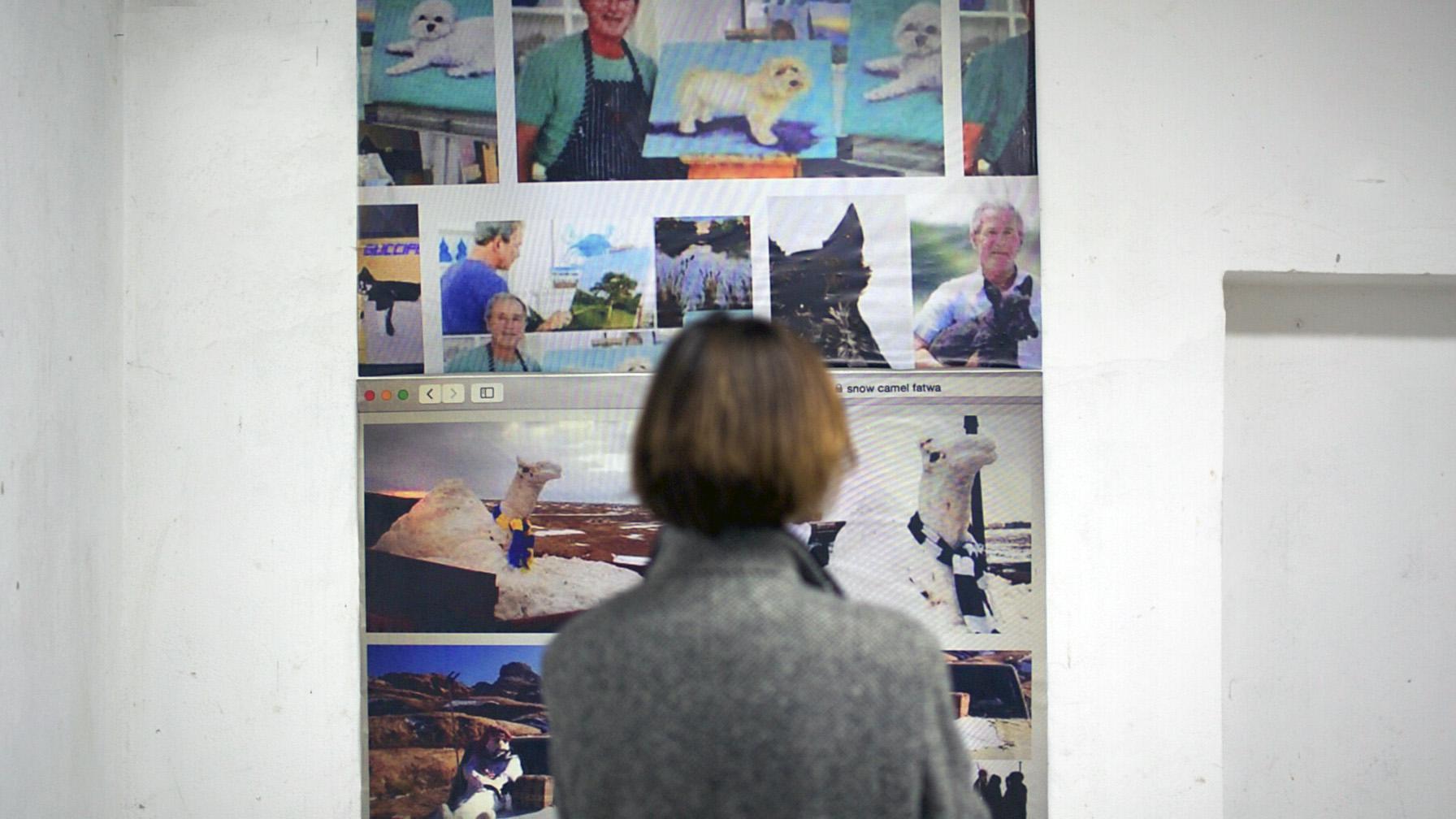 Huber Gromny, Surplus / Nadmiar, widok wystawy
