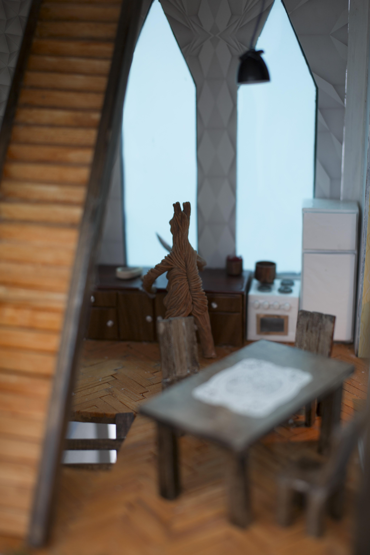 Xawery Wolski, Spacer, widok wystawy