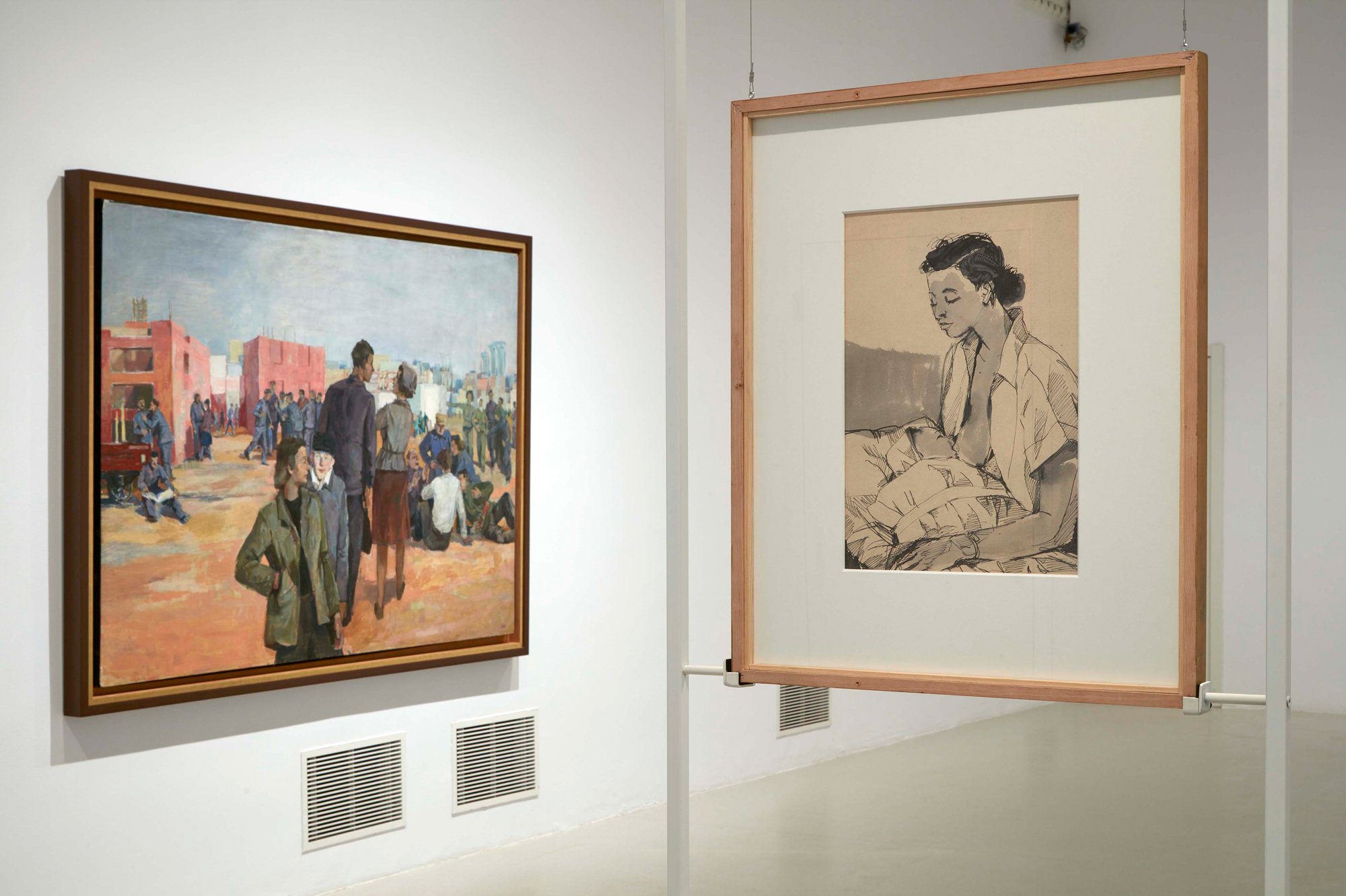 Andrzej Wróblewski, Recto / Verso, widok wystawy