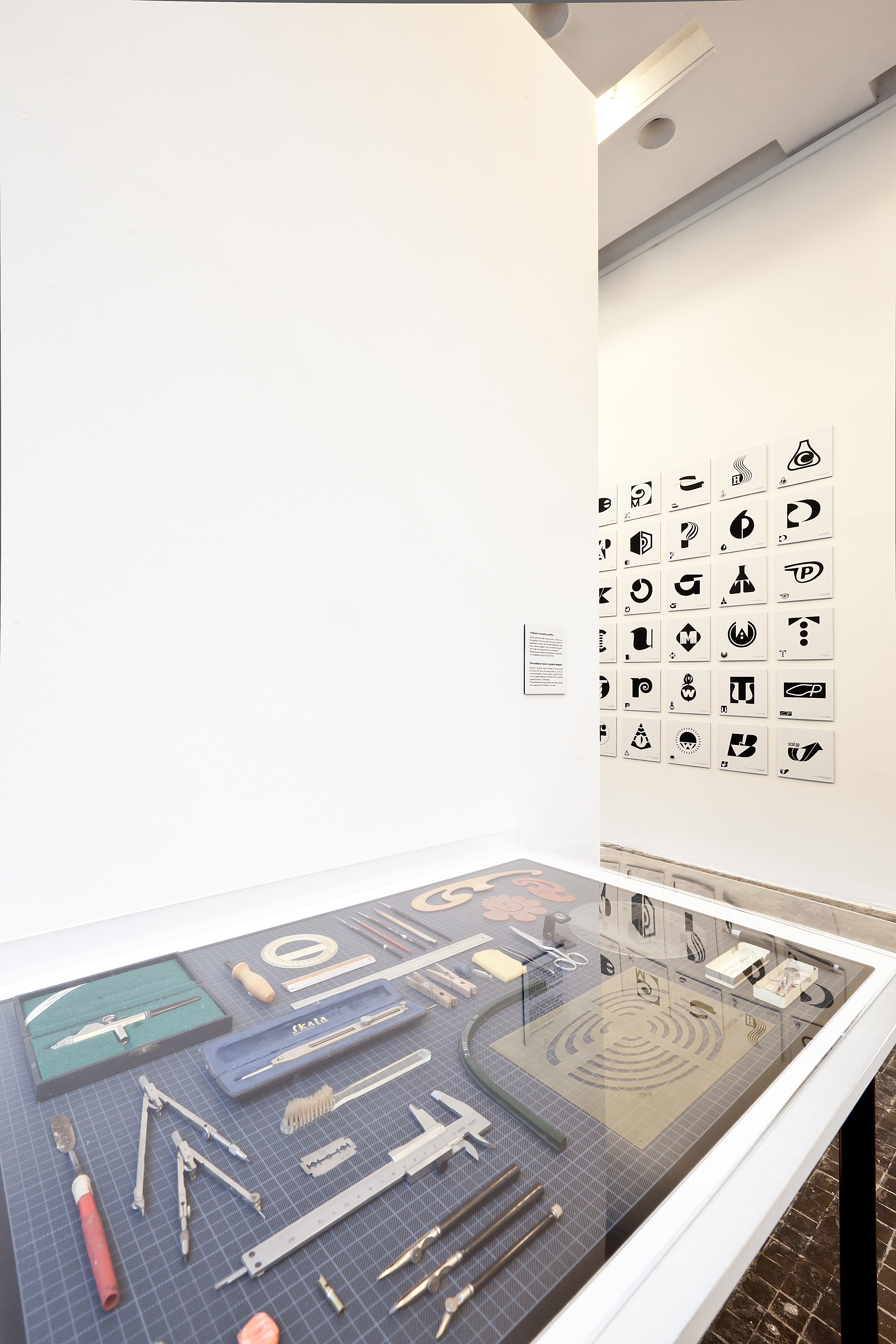 Druga Ogólnopolska Wystawa Znaków Graficznych, widok ogólny