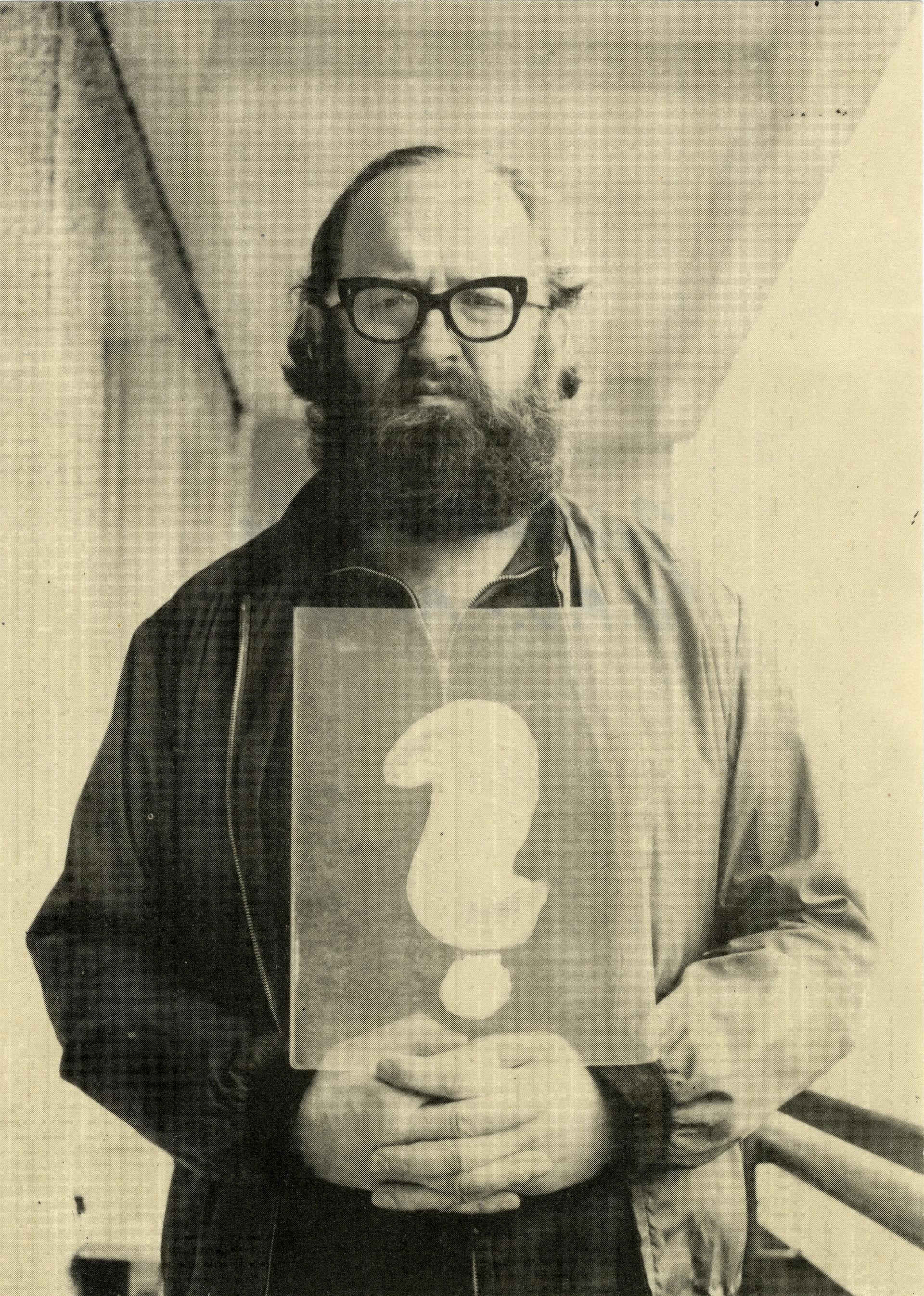 Július Koller, P.F. 1981 (U.F.O)