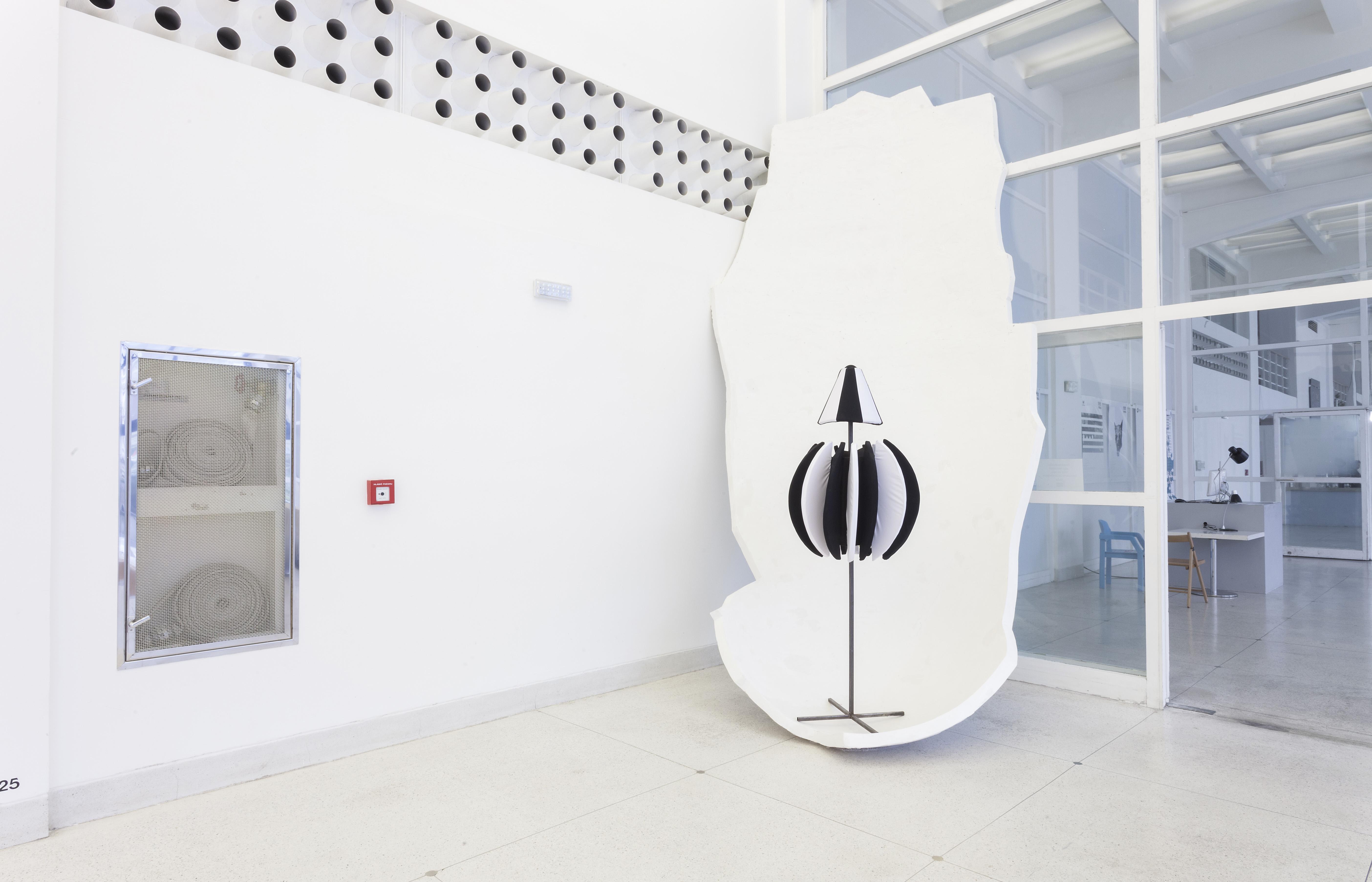 Silver Lining, widok wystawy