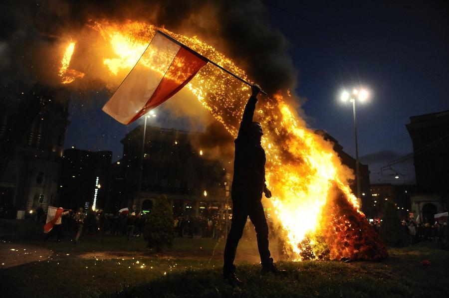 Spalenie Tęczy Julity Wójcik w2003 roku
