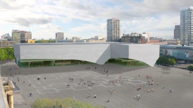 Muzeum Sztuki Nowoczesnej, projekt Christiana Kereza