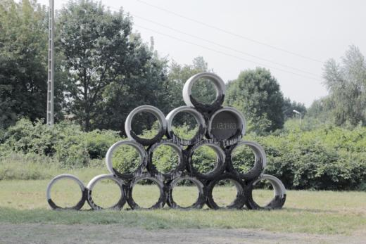 Wilhelm Sasnal, 28.03.1983, instalacja, Mościce