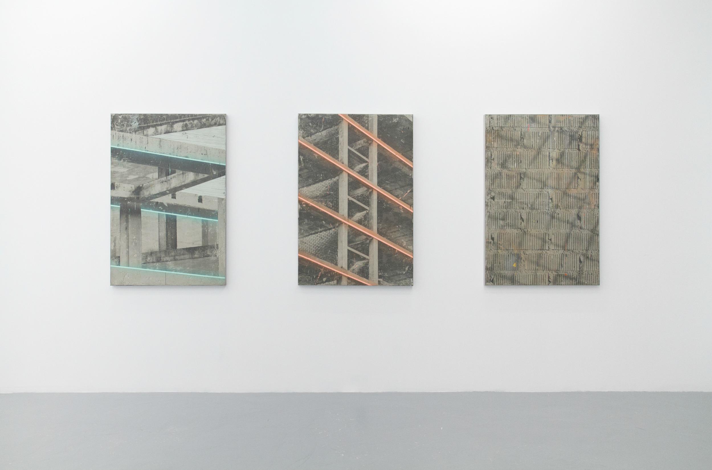 Keke Vilableda, Brand New Ruins, widok wystawy