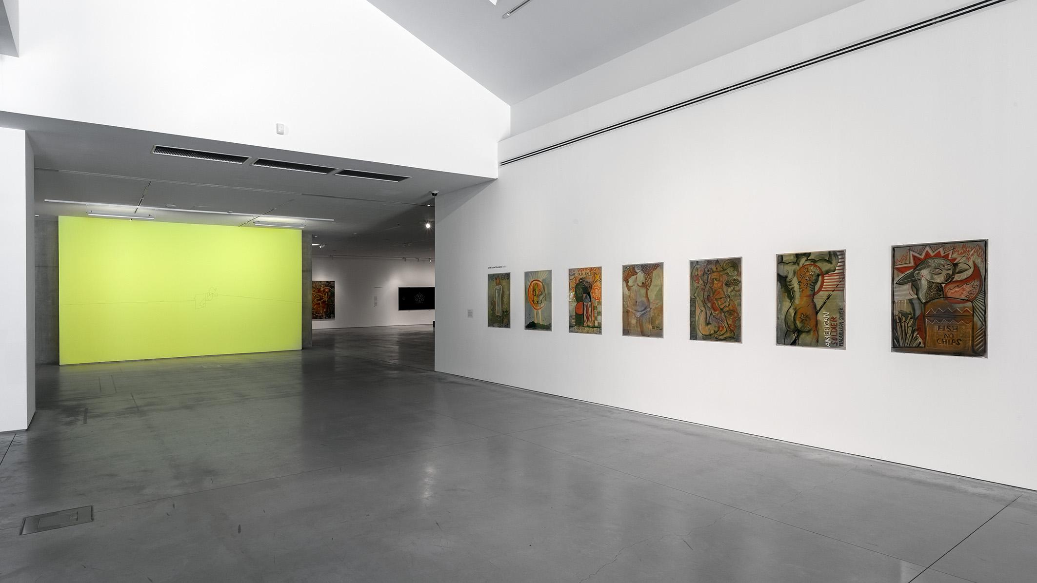 Artyści zKrakowa. Generacja 1980–1990, widok wystawy