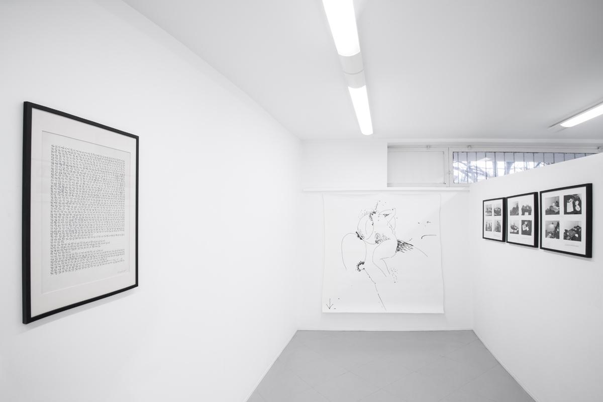 Galeria Piwna..., widok wystawy