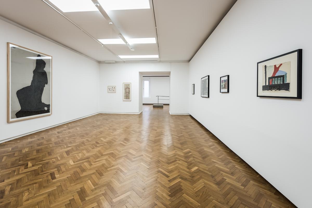 Mirosław Bałka: Nerw. Konstrukcja, widok wystawy