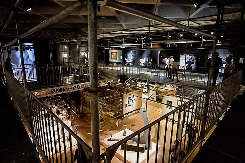 Maszyna, wystawa dorobku Tadeusza Kantora wBrazylii, fot.Alexandre Nunis