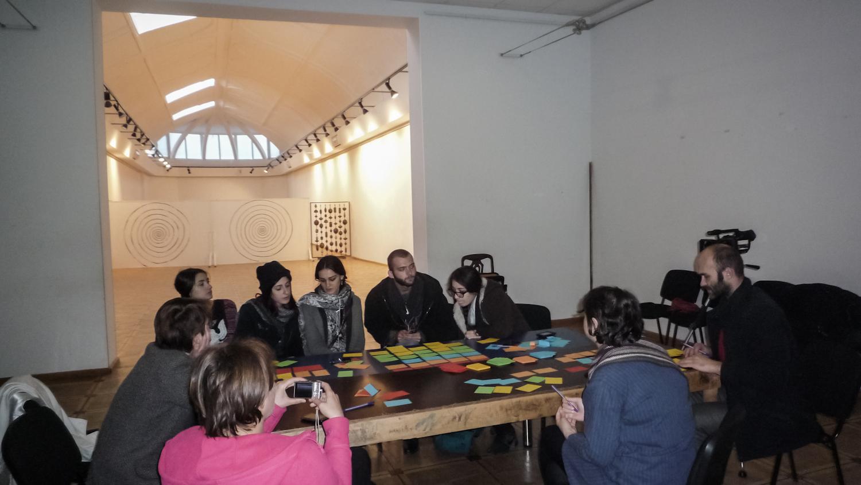projekt Partnerstwo Wschodnie - warsztaty Kino dla przemiany społecznej, fot.Monika Szewczyk