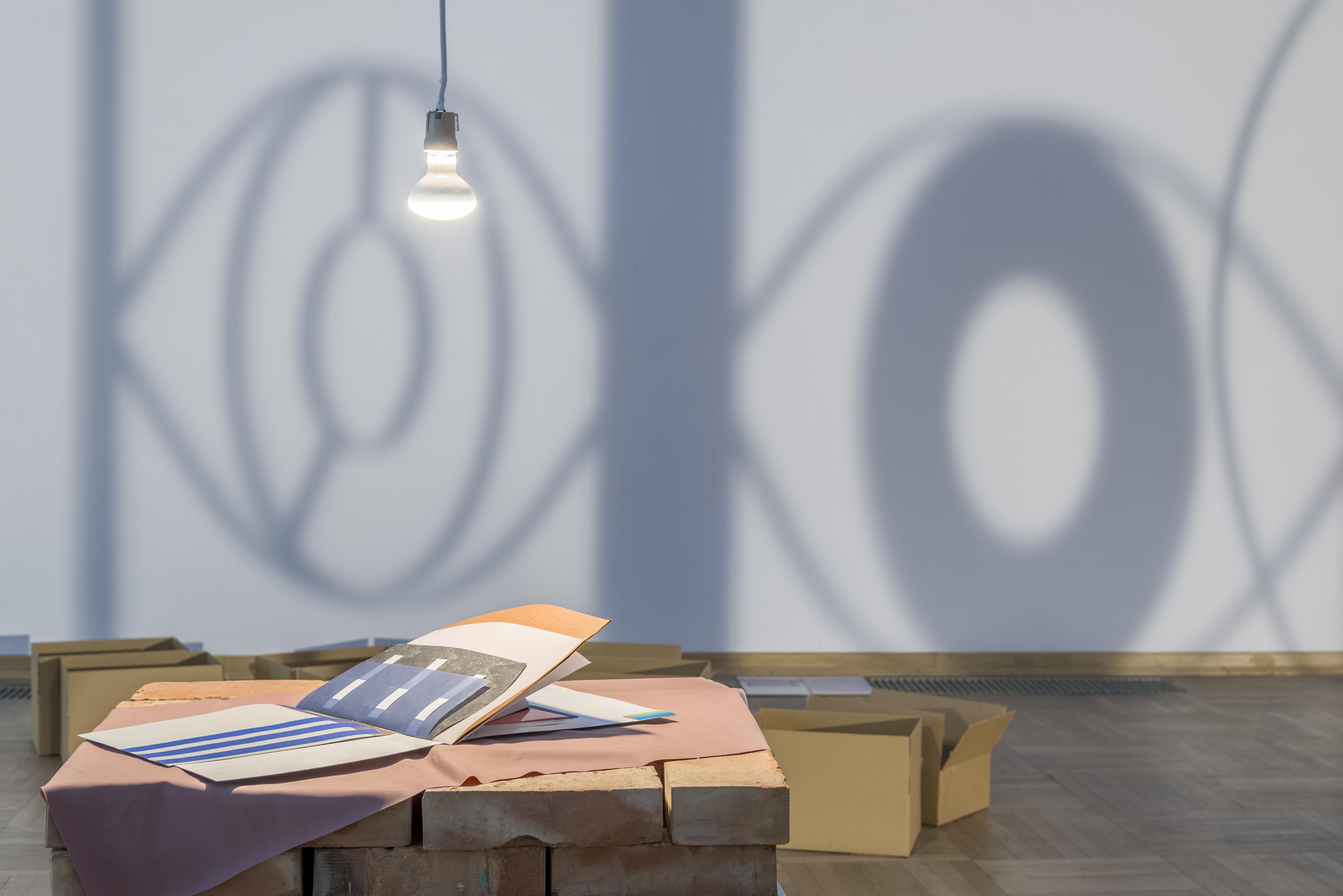 Viktorija Rybakova, Katalog Navakasa, 2015, wtle Drzwi obrotowe (fragment), Viktorija Rybakova
