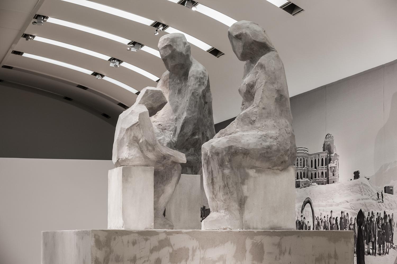 Goshka Macuga, Model for aSculpture (Family), 2011, dzięki uprzejmości Kunsthalle Wien