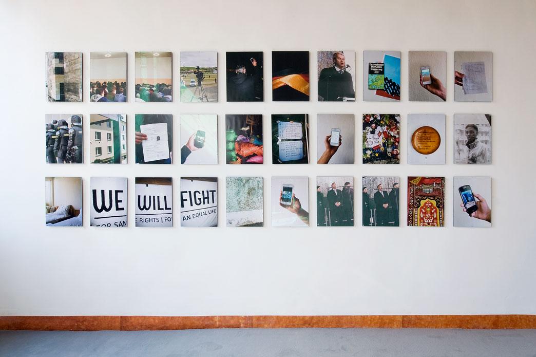Susanne Keichel, Linie ucieczki, c-print, 2015