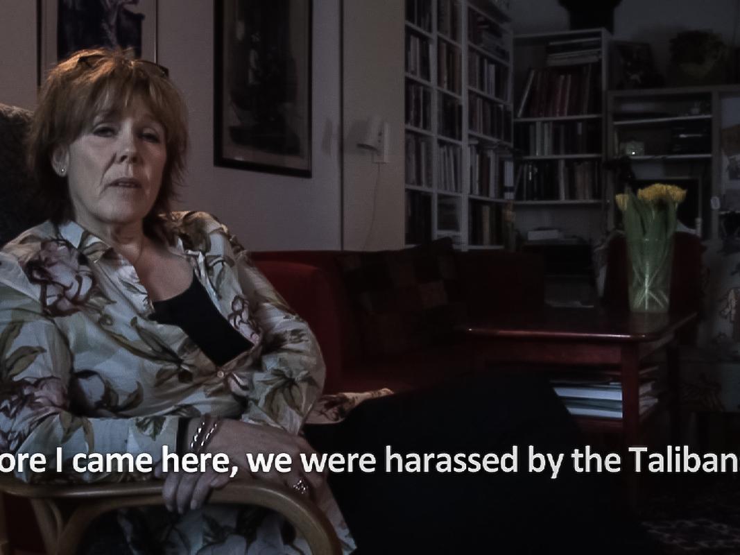 Anna Konik, Wtym samym mieście, podtym samym niebem..., 2011-2015, wideoinstalacja