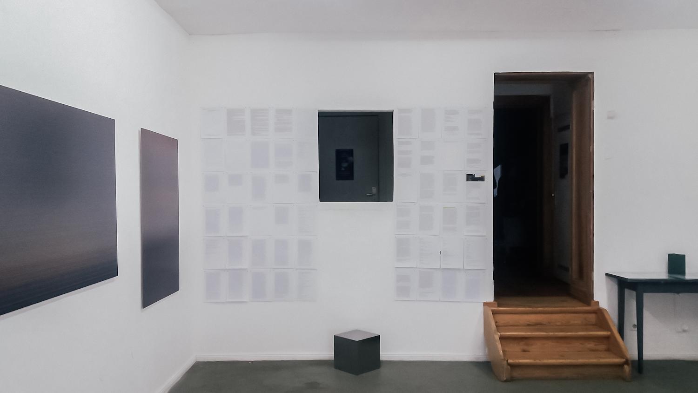 Rzekoma śmierć fotografii, widok wystawy