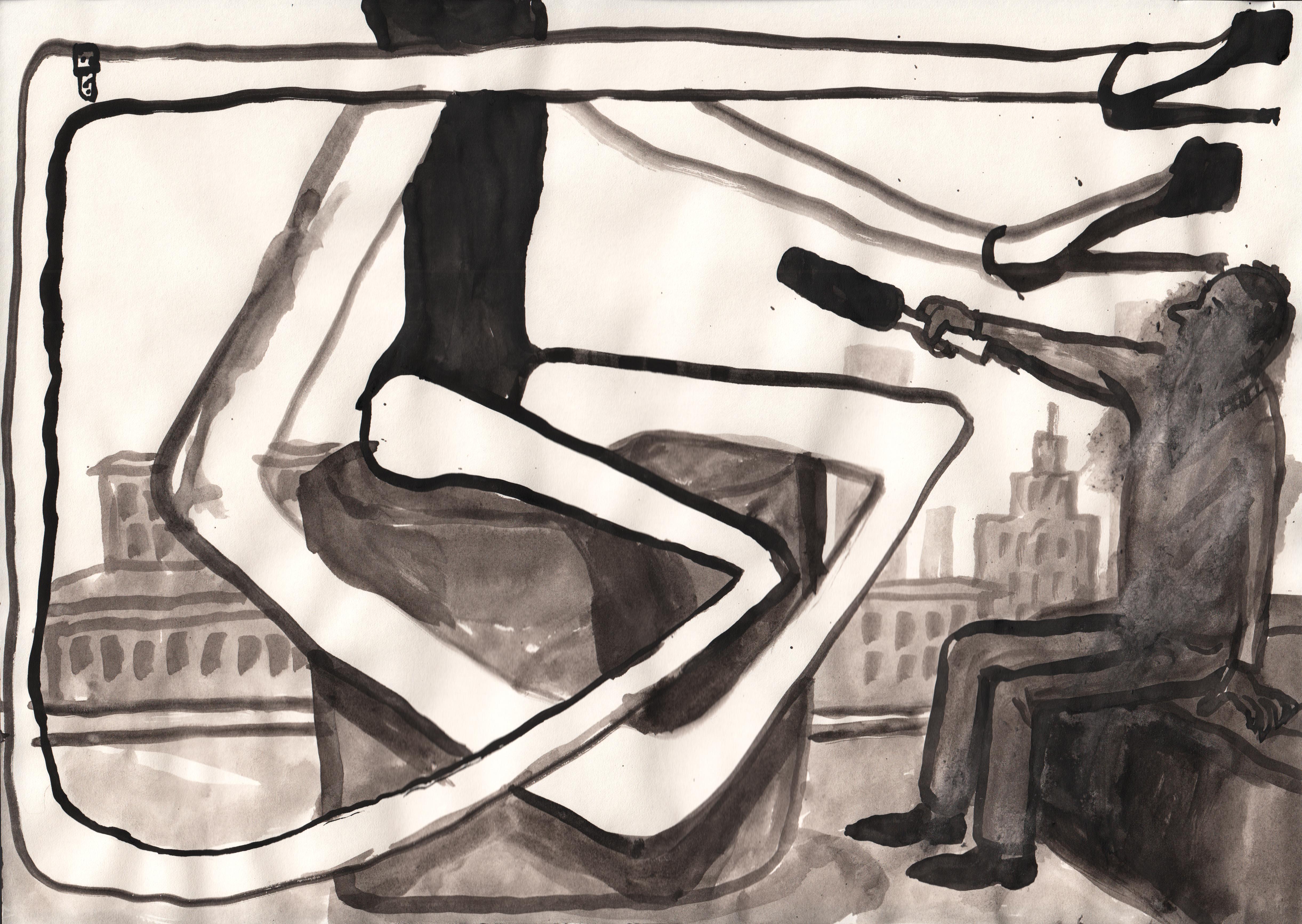 Zofia Gramz, Jak optycznie wydłużyć nogi iukryć niedostatki, 2015, dzięki uprzejmości artystki iGalerii Monopol