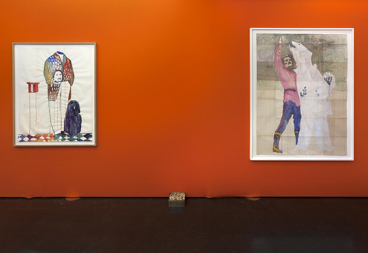 Orange Meets Blue, widok wystawy