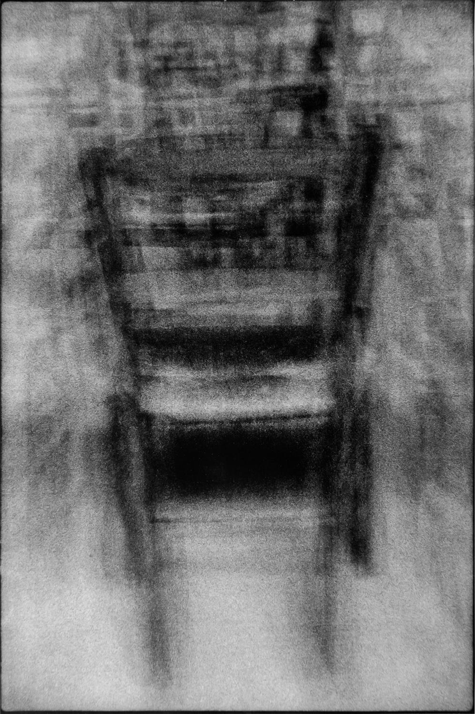 Krzysztof Pruszkowski, 22 krzesła zkatedry wBourges. Fotosynteza,1985