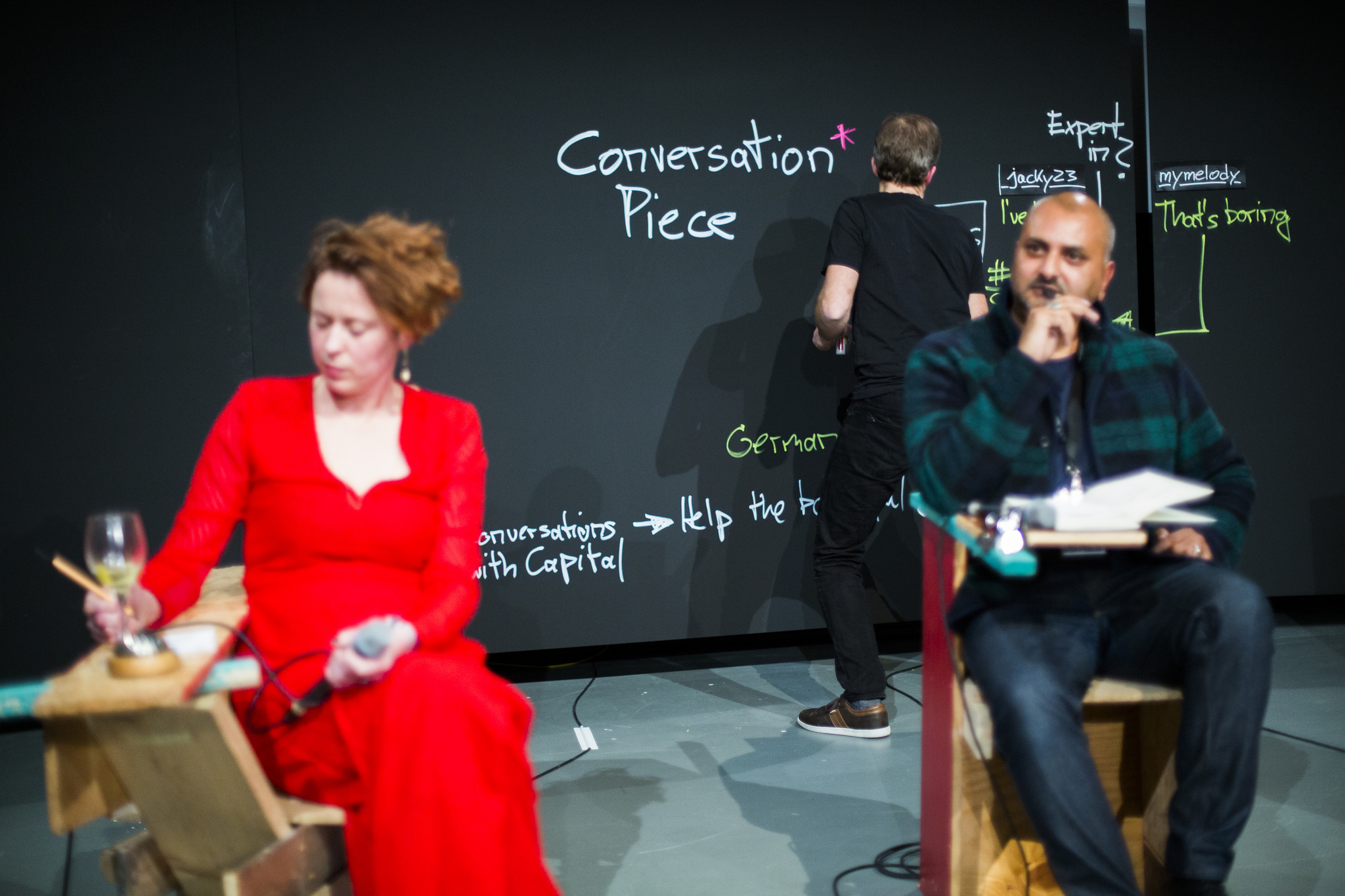 Transmediale, Conversation piece, dokumentacja wydarzenia