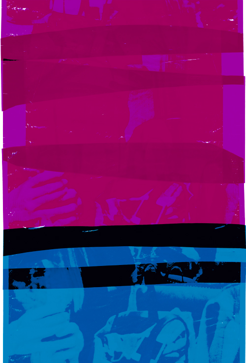 Tomasz Saciłowski, Torba Plus, Lambda Fuji Flex, 140x95 cm, 2016