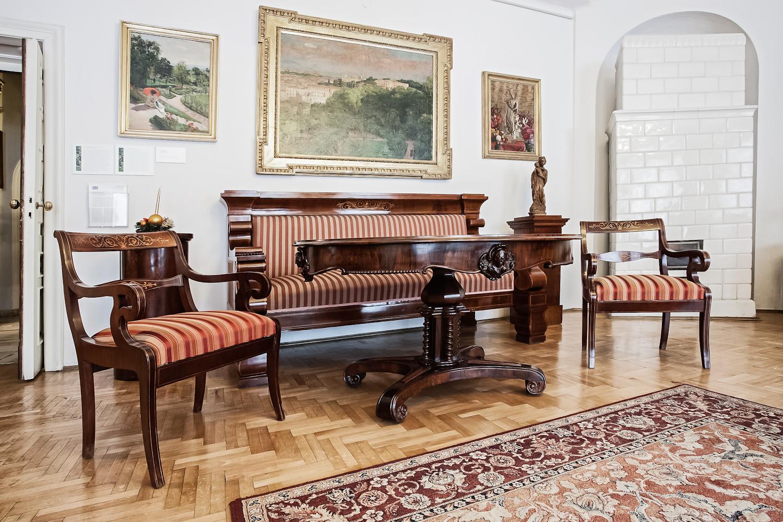 Dom Józefa Mehoffera, widok ekspozycji