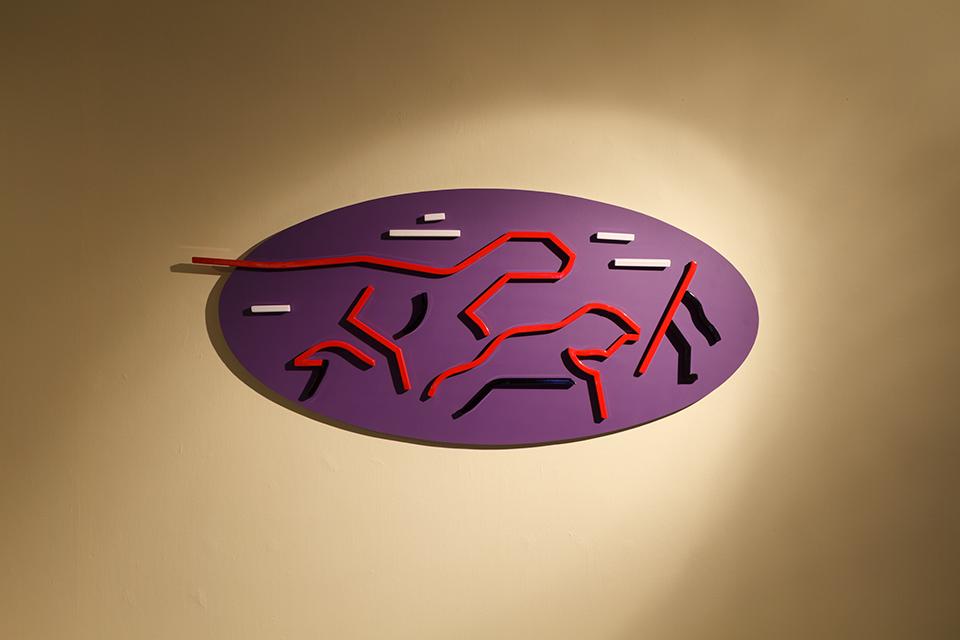Black mesa, widok wystawy