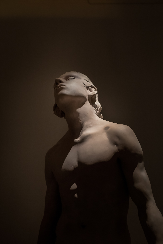 Dorota Hadrian, Kopernik, akryl polichromowany, 2016