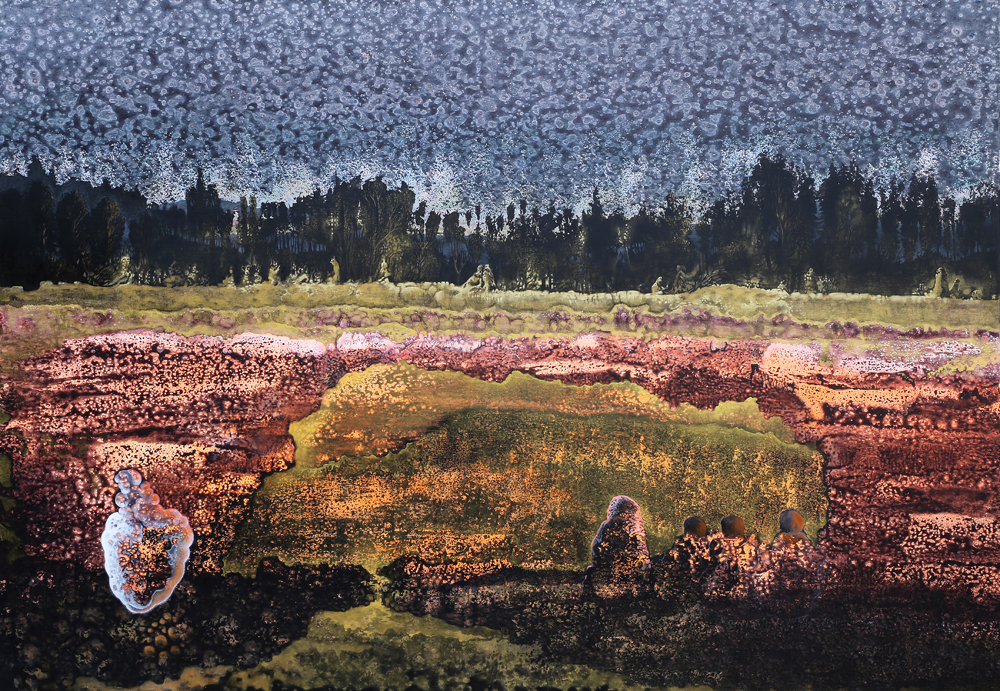 Veronika Holcová, The Gate, Landscape with Soul