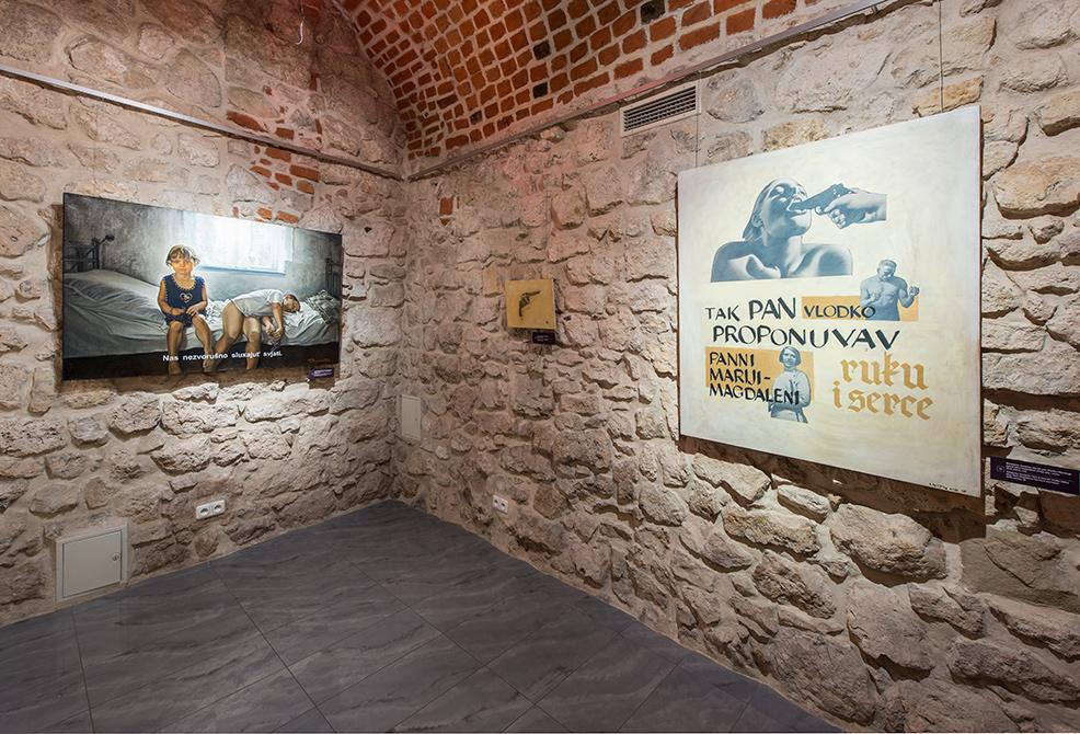 """""""Ukraina. Czekając nabohatera"""", widok wystawy"""