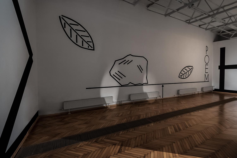 A - NA- TO- MY, widok wystawy