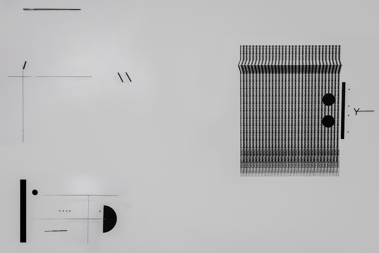 Marlena Kudlicka, adivided dot. folder, kompozycja rzeźbiarska naścianie 2014, dzięki uprzejmości Muzeum Współczesnego Wrocław, 2016