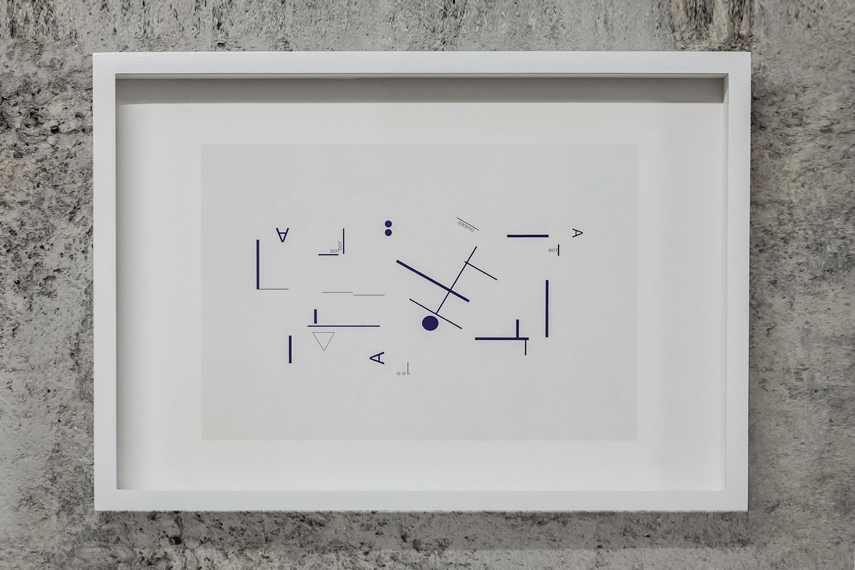 Marlena Kudlicka, adivided dot, diagram, druk, 2014, dzięki uprzejmości Muzeum Współczesnego Wrocław