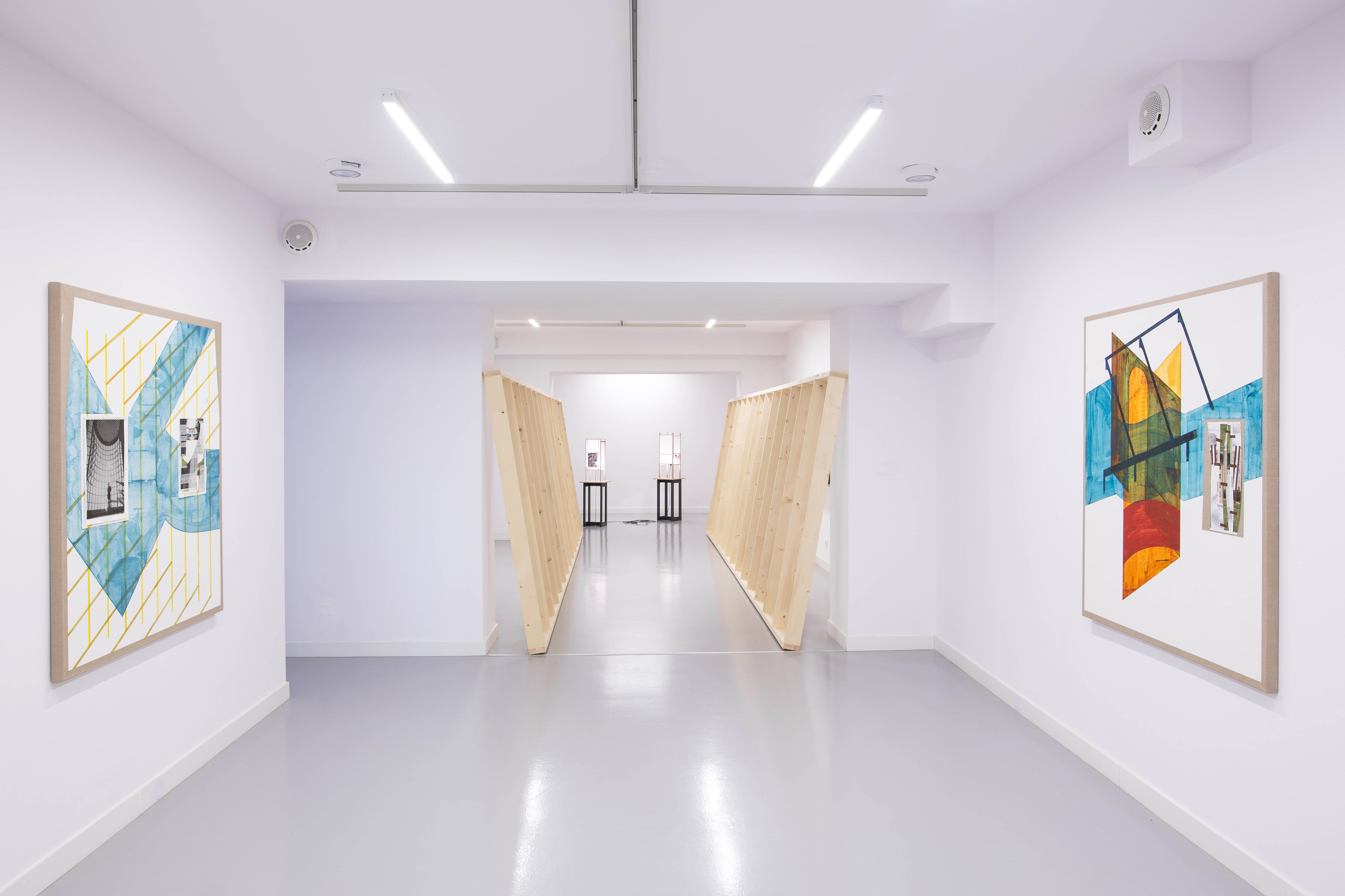 Nine Lives, widok wystawy