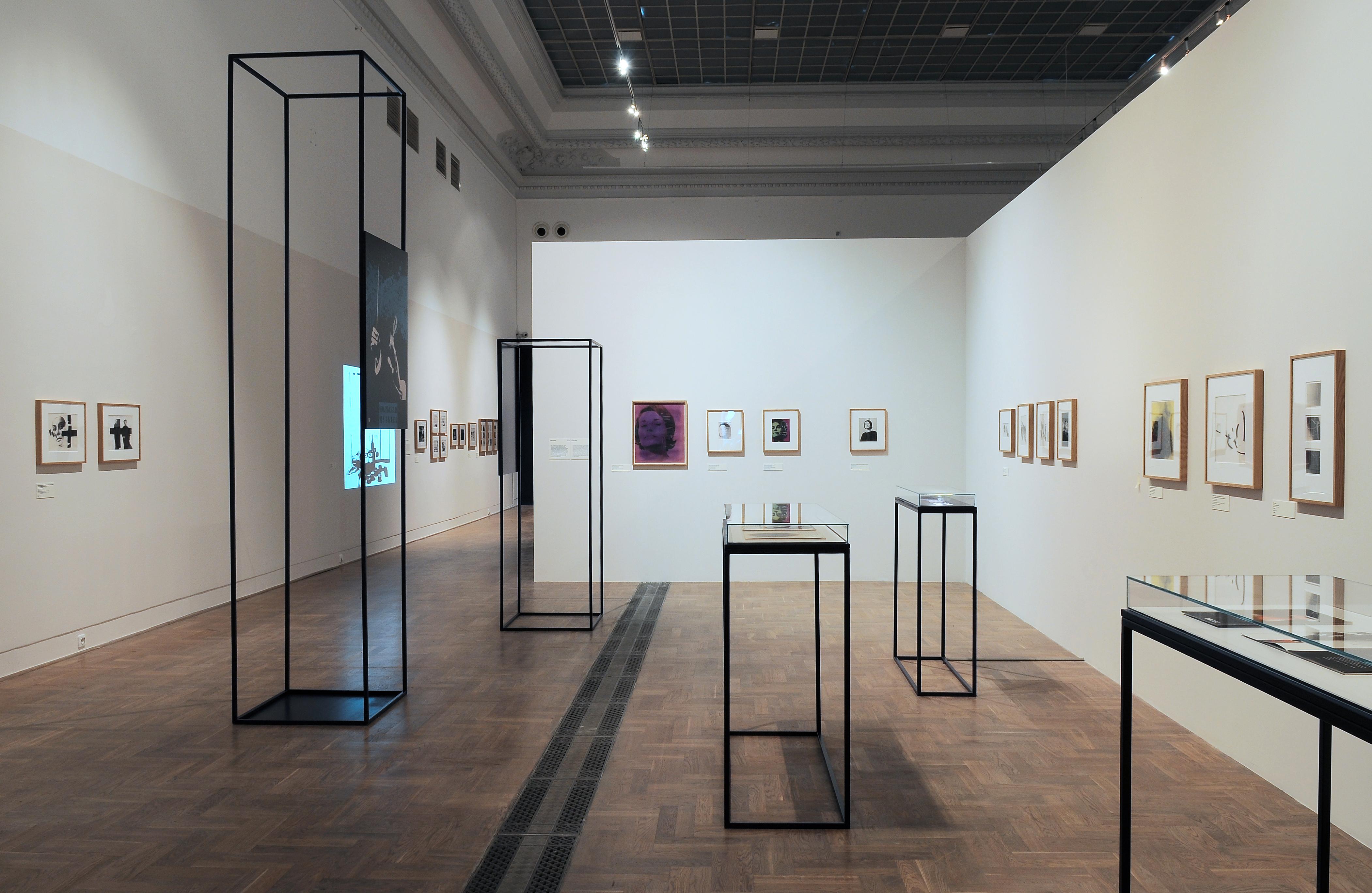 Wojciech Zamecznik, Foto-graficznie, widok wystawy